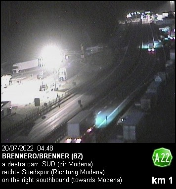 Wetter, Livebild, Livecam und Webcam Brenner - 1350 Meter Seehöhe